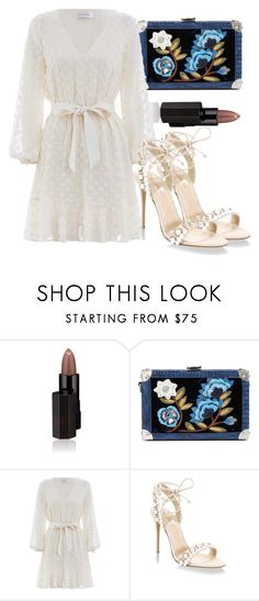 """""""Untitled #5263"""" by beatrizvilar on Polyvore featuring Serge Lutens, Sam Edelman, Zimmermann and Monique Lhuillier"""