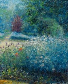 Giverny, the garden - Blanche Hoschedé-Monet (1865-1947)