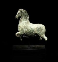 Roman, arched neck, prancing horse