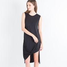 Modern Citizen  |  Lisey Cupro Column Dress (Black) $108