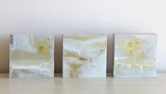 Gold Abstracts by Austin James // www.summerhousestyle.com