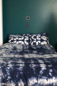 Shibori Dyed Duvet Cover & Pillowcases