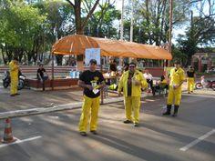 Nationaler Sammeltag der freiwilligen Feuerwehr in Paraguay