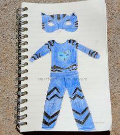 disney jr pj masks catboy costume sketch - Disney Jr Halloween Costumes