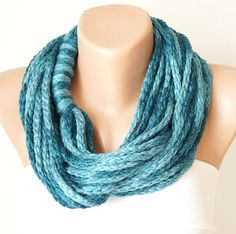 Infinity Scarf  Loop Scarf  Circle Scarf  Cowl Scarf  by Periay, $20.00