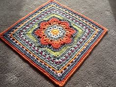 "Ravelry: Spring Fling 12"" Square pattern by April Moreland"