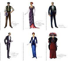 Titanic Historical costumes