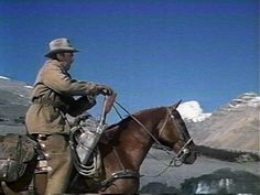 """For over twenty years Jimmy Stewart's most regular western film co-star was """"Pie"""", the horse that appeared with him in 17 movies. Henry Fonda surprised Jimmy with a portrait of Pie he had painted -- Jimmy hung it above his fireplace."""
