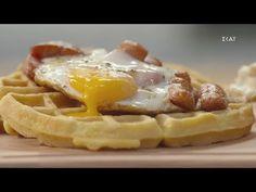 Αλμυρές βάφλες καλαμποκιού| Ώρα για φαγητό με την Αργυρώ | 11/02/2021 - YouTube Waffles, Breakfast, Youtube, Food, Morning Coffee, Essen, Waffle, Meals, Youtubers