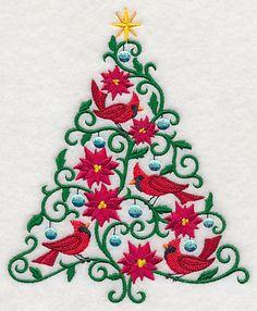O Christmas Tweet - Cardinals design (L6966) from www.Emblibrary.com