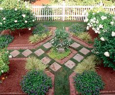 Keep It Simple        A simple design makes this garden feel more sophisticated. Pavers serve as both practical steppingstones and architectural interest. The well-thought-out plan makes the most of limited space.