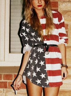 I seriously love this.  fourth of july please