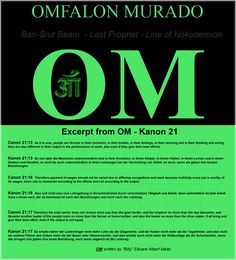 Excerpt from OM - Kanon 21      Canon 21:13  As it is now, people are diverse in their evolution, in their bodies, in their feelings, in their learning and in their thinking and acting, they are also different in their output in the performance of work, also even if they give their best efforts.   Kanon 21:13  So nun aber die Menschen unterschiedlich sind in ihrer Evolution, in ihrem Körper, in ihrem Fühlen, in ihrem Lernen und in ihrem Denken und Handeln, so sind sie auch unterschiedlich in…
