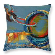 "Evolving Sense Throw Pillow 14"" x 14""  #throwpillow #homedecor"