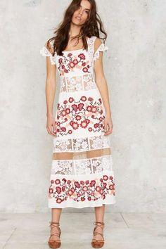 For Love & Lemons Cecelia Maxi Dress on ShopStyle Haute Couture Dresses, Festival Fashion, Festival Style, Floor Length Dresses, For Love And Lemons, Spring Dresses, Dress To Impress, Stylish Outfits, Editorial Fashion