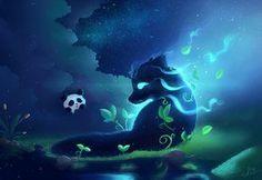 fox spirit | Found on chinqwe.deviantart.com