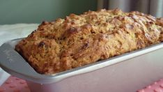 Banana Bread - Sugar Free Recipe - want to trade out applesauce for butter, but not sure what it'll do with the greek yogurt. Diabetic Desserts, Sugar Free Desserts, Sugar Free Recipes, Diabetic Recipes, Diabetic Foods, Diabetic Cookies, Sugar Free Baking, Skinny Recipes, Healthy Recipes