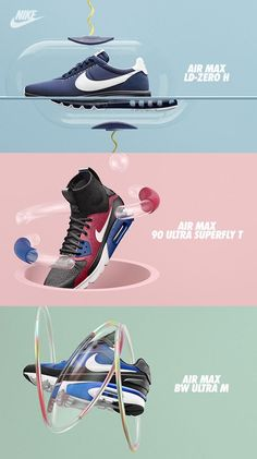 Sports Graphic Design, Graphic Design Posters, Graphic Design Typography, Shoes Ads, Men's Shoes, Nike Poster, Sneaker Posters, Shoe Advertising, Nike Air Max