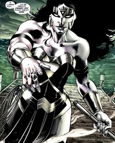 Black Lantern Wonder Woman