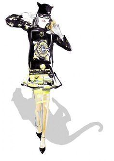 fashion illustration - francesca waddell