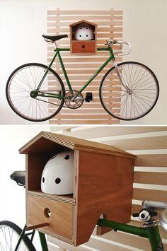 30 Creative Bicycle Storage Ideas//