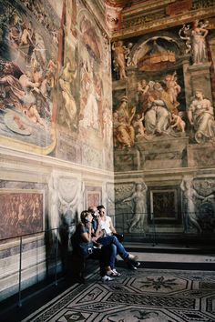 """in the Raphäel rooms"" - Vatican Museum, Rome, Italy 2012"