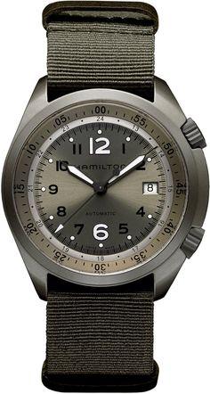 @hamiltonwfan Watch Khaki Aviation Pilot Pioneer Aluminum #bezel-fixed…
