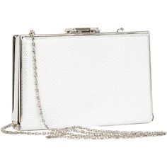 Joanel Snakeskin Print Evening Clutch ($40) ❤ liked on Polyvore featuring bags, handbags, clutches, special occasion handbags, special occasion clutches, vegan leather handbags, snake print handbag и evening purse