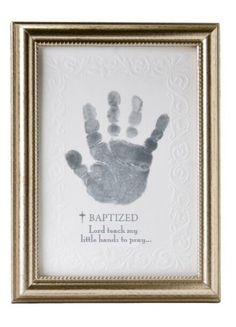 The Grandparent Gift Co. Growing in Faith Handprint Frame, Baby Dedication by The Grandparent Gift Co. Christening Party, Baptism Party, Baptism Ideas, Baptism Pictures, Boy Baptism Decorations, Baptism Cupcakes, Dedication Ideas, Baby Dedication Gifts, Rosalie