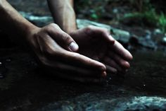 Source of life by Azra Ferhatovic on 500px #source #life #hands #water #summer #home #village