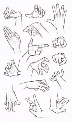 Copy's and Studies: Hands by WonderingMind23.deviantart.com on @DeviantArt