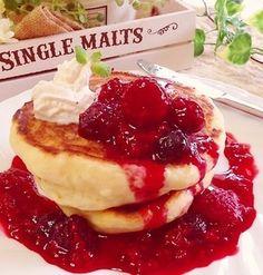 おやつ&おかず♡もっちもちテリッテリ!豆腐おからもち!そして朝食の豆腐パンケーキ! Souffle Pancakes, Crepe Pan, Scones, Waffles, Cheesecake, Muffin, Sweets, Bread, Cooking