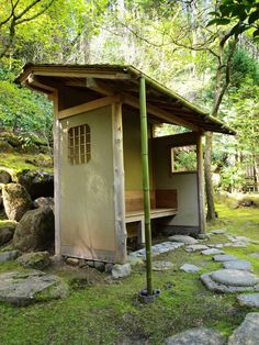 These pictures are from Portland Japanese Garden and the tea house that is in the tea garden.