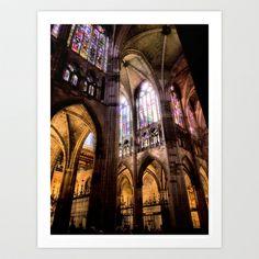 Catedral+de+Santa+Maria+de+Regla+de+Leon+Art+Print+by+Vitor+Ribeiro+-+%2412.48