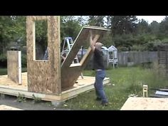 Building a shed with SIPs - YouTube