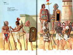 SP - Antiquity [WB] Shadows in the Desert - An Ancient Middle East Mod Egyptian Weapons, Ancient Egyptian Art, Ancient History, Historical Art, Historical Pictures, Bronze Age Collapse, Ancient Near East, Illustration, Military Uniforms
