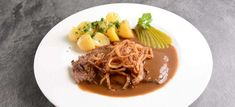 Falstaff, Rind, Spaghetti, Beef, Ethnic Recipes, Gourmet, Top Recipes, Meat, Easy Meals