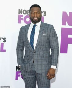Rapper 50 Cent donates $3 million for inner city education programs Rapper 50 Cent, Mixed Martial Arts, Actors, Blazer, Education, City, News, Fashion, Moda