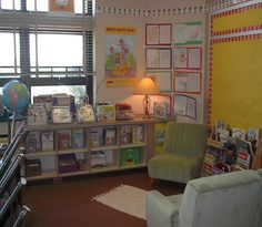 Love this class library area!