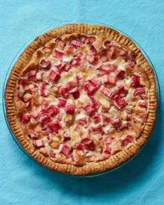 A simple custard base lets the sweet-tart flavor of spring shine through in the sugar-coated pieces of rhubarb.