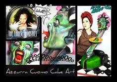The Caketastics  collaboration: Eve-The Vacuum Cleaner❤ - Cake by Azzurra Cuomo Cake Art