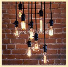 E27 edison lamp kroonluchters verlichting opknoping lamp kroonluchter lamp socket siliconen kroonluchter ~ ~ ~ geen gloeilamp in Lengte: 120cm verzendkostenOndersteunen wij hk bericht, de post van china, ems, dhl, we zullen handelen vol van hanglampen op AliExpress.com   Alibaba Groep