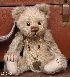 "Charlie Bear Minimo ""Titch"" Teddy Bear Cottage - Collectable Charlie Bears"