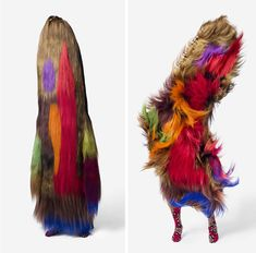 Chicago-based artist, educator, and Alvin Ailey dancer Nick Cave (not to be confused with the other one) has been wowing people with his amazing Soundsuits for years now. Inspired by African ceremonial costumes, Cave's pieces fuse sculpture, fashion, and performance.