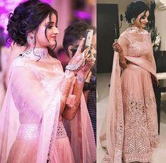 Stylish Girls Photos, Stylish Girl Pic, Dress Indian Style, Indian Dresses, Indian Wear, Party Wear Dresses, Bridal Dresses, Bridal Lehenga Images, Indian Bridesmaids