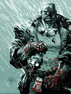 We speak with some of the creators behind Batman Eternal about the changes to the Bat-mythos, the return of Spoiler and more! Sin City Comic, Sin City 2, Frank Miller Sin City, Frank Miller Art, Comic Book Heroes, Comic Books Art, Book Art, Cyberpunk, Batman Eternal