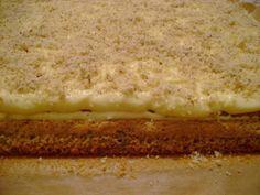 Prăjitură cu nucă și cremă de portocale – Betty's Kitchen Biscuit, Banana Bread, Sandwiches, Cheesecake, Food And Drink, Sugar, Homemade, Cookies, Desserts