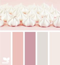 Whipped Pink colour palette by Design Seeds. Pink Palette, Colour Pallette, Colour Schemes, Color Combos, Color Patterns, Design Seeds, Decoration Inspiration, Color Inspiration, Pantone