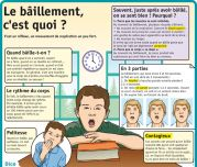 Le bâillement, c'est quoi ? - Le Petit Quotidien, le seul site d'information quotidienne pour les 6-10 ans ! French Practice, Medical Mnemonics, Health Words, Medicine Student, Healthy Man, French Classroom, Brain Gym, Medical Humor, Teaching French