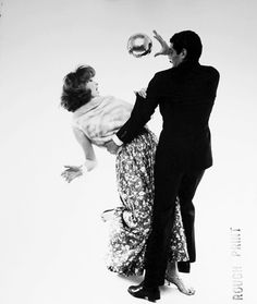 Bert Stern, Suzy Parker and Omar Sharif, VOGUE, 1961, Staley-Wise Gallery